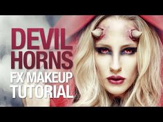 ▶ Awesome devil horns fx makeup tutorial - YouTube