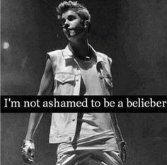 I am the biggest Belieber, and I am so extremely obssessed with him. I love you Justin xx