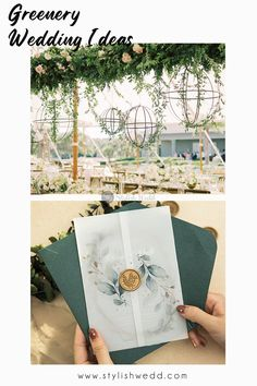 The elegant vellum pocket with personalized initial wax seal holds an invitation that has a beautiful greenery botanical Pattern perfectly placed plus a monogram frame that puts all the focus on the wording. Perfect for any season and this is an invitation that is sure to impress. #weddingideas#weddinginvitations#stylishwedd #stylishweddinvitations #weddingstationery#springwedding#summerwedding#2021wedding