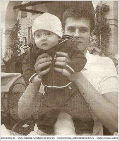 Michał Winiarski z synem:)