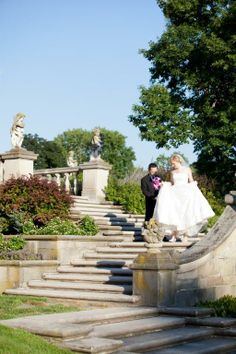 Steps leading up to the mansion; Photography by M Lindsay