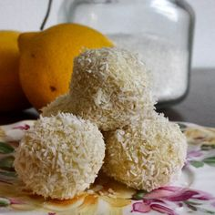 Just made these heavenly #amazeballs with #proteinpowder grated coconut, coconut cream and fresh lemon zest. They really taste amazing! And all no bake and healthy ingredients. The perfect post workout snack! I will post the recipe on my blog very soon! #healthylicious #absaremadeinthekitchen #fitfam #fitfood #eatclean #fitdutchies #fitgirlcode #wheysted #bodyenfitshop #Padgram