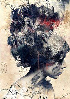 Byroglyphics' New Beautifully Messy Print