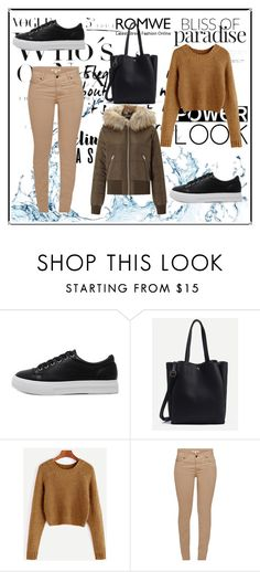 """Romwe 2"" by dinka1-749 ❤ liked on Polyvore featuring Barbour and Miss Selfridge"