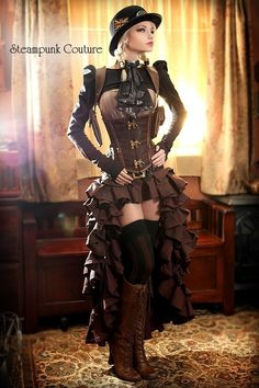 Don't really like Steampunk Couture and Kato kinda drives me bonkers but I do want a skirt like that