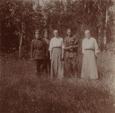 Tsarskoye Selo, under arrest. Summer 1917