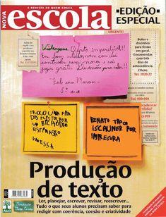 Revista:Nova Escola Especial – Produção de Texto – Março de 2010