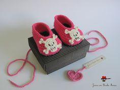 joana em banho maria: * Sapatinhos cor-de-rosa *
