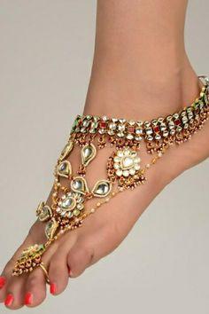 Gorgeous India Foot