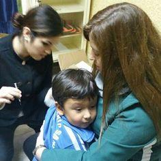 Campaña de vacunacion contra la influenza para nuestros alumnos de pre kinder  y kinder