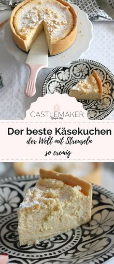 Creamy cheesecake - that's how easy the best cheesecake goes - Kuchen&Torten&Gebäck - Nutella recipes Creamy Cheesecake Recipe, Best Cheesecake, Cheesecake Recipes, Easy Cookie Recipes, Sweet Recipes, Dessert Recipes, Good Food, Yummy Food, Banana Recipes