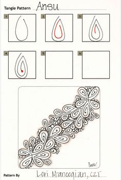 How to draw ANSU « TanglePatterns.com