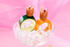日本ハム | ウインナーの飾り切り - ゆびわ