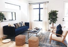 Cascadia Blue Cirrus 3 Seater Velvet Sofa | Article Couch And Loveseat, Mid Century Modern Sofa, Parisian Apartment, Contemporary Sofa, Velvet Sofa, High Quality Furniture, Sofas, Mid-century Modern, Love Seat
