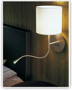 Hotel - Python SW-4 / master bedroom bedside sconce option