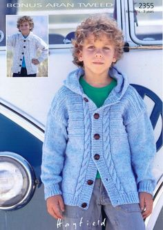 Hayfield - 2355 - Cardigans (6 months - 9 years)