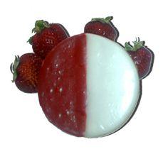 Strawberry Black and White Cookies Cupcake Cookies, Cupcakes, Black And White Cookies, Baked Goods, Nom Nom, Sweet Treats, Deserts, Strawberry, Baking