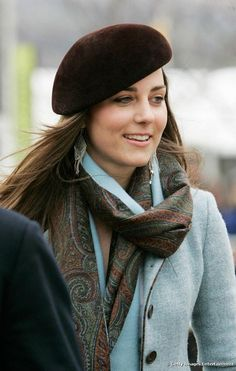 March 2007 Middleton sported a chic look at a festival in Gloucestershire, England
