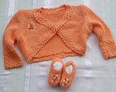 baby sweater + shoes