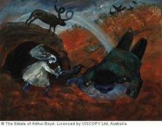 Buy online, view images and see past prices for ARTHUR BOYD Bride and Bridegroom with Rainbow. Invaluable is the world's largest marketplace for art, antiques, and collectibles. Australian Painting, Australian Artists, Arthur Boyd, Avant Garde Artists, Dark Pictures, Fine Art Gallery, Painting & Drawing, Modern Art, Contemporary