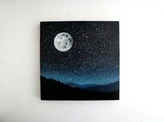 night sky drawing
