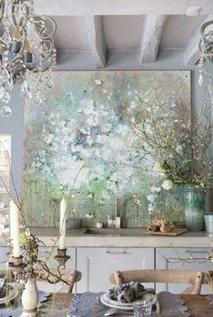 Déco Murale Chambre, Idée Déco Chambre, Chambre Moderne, Cadre Peinture,  Peinture Abstraite