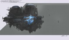 """""""Sylith Dreadnaught Concept"""" by Alex Drummond"""