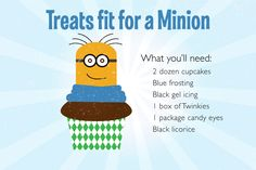 Make Your Own Minion Treats