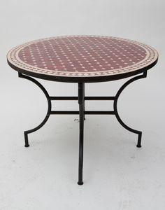 moroccan outdoor furniture. plain moroccan moroccan mosaic circular garden table with red terracotta tiles moroccan  outdoor furniture on outdoor furniture o