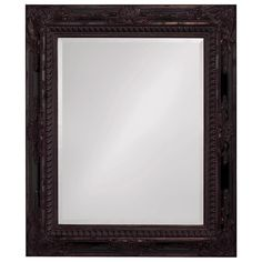 "Howard Elliott Monaco Mottled Bronze Mirror 30"" x 37"""