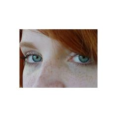 Freckles ❤ liked on Polyvore featuring hair, people, redhead, backgrounds and red hair
