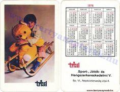 1976 - 1976_0103 - Régi magyar kártyanaptárak