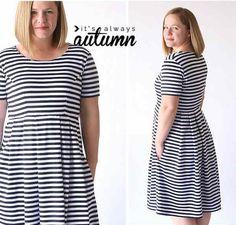 DIY : la robe parfaite, cintrée et jupe évasée que pensez-vous de cette robe?