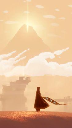 {promo for Journey (game)} | Matt Nava (AD and Lead Artist)