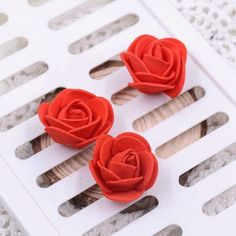 Small foam artificial rose decoration 50pcs products pinterest small mini roses foam artificial flowers for wedding festive decoration handmade pompom diy craft accessories mightylinksfo