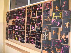 Prace uczniów wykonane podczas tegorocznych praktyk szkolnych. Omawialiśmy sztukę Starożytnej Grecji.