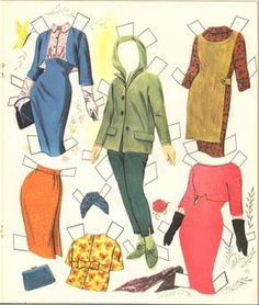 VINTAGE UNCUT 1955 DEBBIE REYNOLDS PAPER DOLL ~WHITMAN~HD LASER REPRODUCTION LOP | eBay