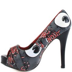 Oh No Platform - Charcoal  Iron Fist $44.99