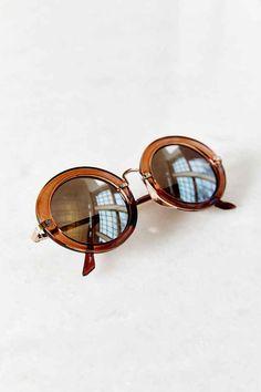 Street Style Round Glasses