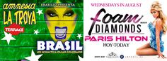 Don't miss #DJ Paris Hilton #FoamAndDiamonds + #LATROYAIBIZA 08.13, at Amnesia Ibiza! http://www.amnesia.es/webapp/home #AmnesiaIbiza #CashMoney #Dance #DJs #EDM #ElectroHouse #Ibiza #Rave #Trance #YMCMB (© 2014 @Amnesia_Ibiza)