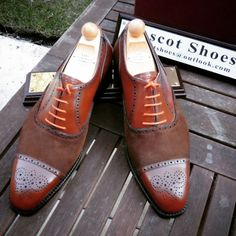 http://chicerman.com  ascotshoes:  A touch of suede and a pair of orange laces makes a huge difference to your Vass I  We are a shoe shop based in the UK that specialise in Vass Shoes. Please email Sammy for no obligation advice on Sizing Fitting Made To Order MTO Stock & MTO Prices from $695. All our Vass shoes are individually hand stitched with the upmost attention to detail and aesthetically finished to meet all client needs. Certain models are available immediately. I  EMAIL…