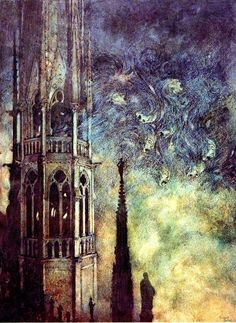 Edmund Dulac Sky colors would be good for water, but reversed - light on top because of sunlight