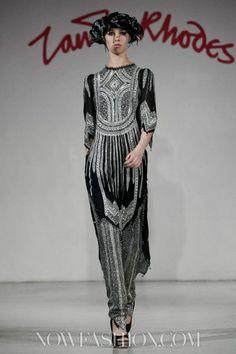 Zandra Rhodes Ready To Wear Fall Winter 2012 Paris