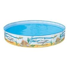 Shop Ocean Life Fill n Fun Pool at Early Learning Centre. Throne For Sale, Tubs For Sale, Pool Sand, Summer Fun For Kids, Sand And Water, Water Toys, Colorful Fish, Outdoor Toys
