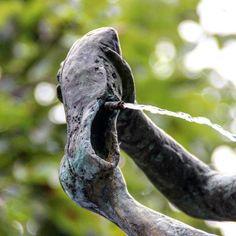 Wasser im Schuh #brunnen #erfurt #iloveefurt
