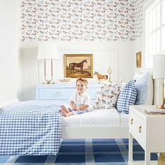 Kids Bedroom, Bedroom Decor, Baby Boy Rooms, Toddler Bed, Interior Design, House Styles, Home Decor, Childrens Rooms, Southern Decorating