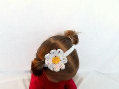 Daisy Baby Headband by AbigailsAttic112