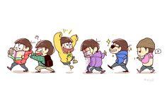 おそ松さん Osomatsu-san Me Me Me Anime, Anime Guys, Game Character, Character Design, Comedy Anime, Ichimatsu, Manga, Funny Faces, Cute Art