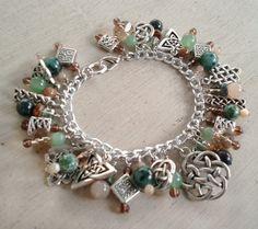 Celtic Charm Bracelet by MistressJennie on Etsy, $55.00