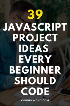 39 Javascript Project Ideas For Beginners | Want to learn how to code javascript and apply your new skills? Here is a list of 39 javascript project ideas perfect for beginners. You will learn the ins and outs of the basic fundamentals of javascript and how they apply to web design. Bring your code to life with these javascript beginner projects with simple functions that can be used in any coding project. #javascriptprojectideas #javascriptbeginnerprojects #javascriptprojectsforbeginners Javascript Course, Coding For Beginners, How To Make Money, How To Become, Coding Languages, All Website, Project Ideas, Projects, Learn To Code